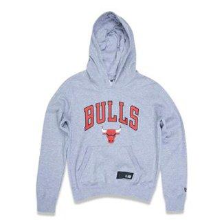 507de8d31 Moletom Canguru Fechado Chicago Bulls NBA New Era Feminino