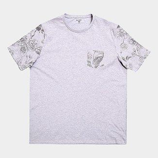 78aefe391e Camiseta Plus Size All Free Estampada Masculina