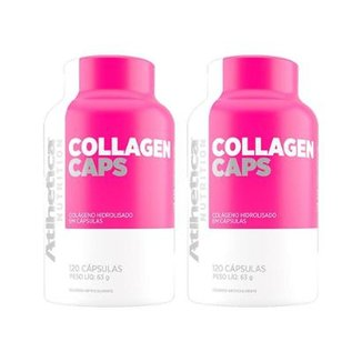 Kit 2x Collagen Caps Ella Atlhetica 120 Cápsulas