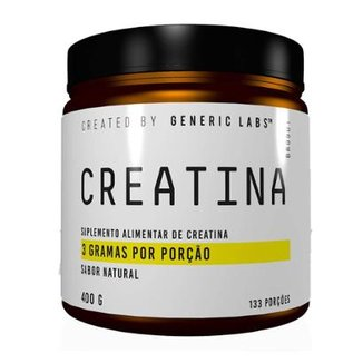 Creatina 400g Generic Labs