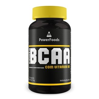 Power BCAA - 120 cápsulas - PowerFoods