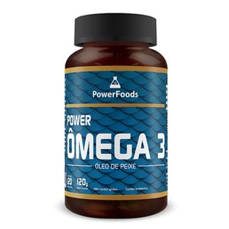 Power Ômega 3 - 120 cápsulas - PowerFoods