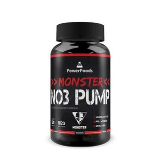 Monster NO3 Pump - 120 cápsulas - PowerFoods