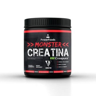 Monster Creatina Creapure - 600g - PowerFoods