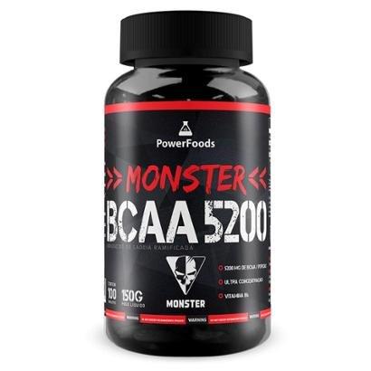 Monster BCAA 5200 100 Tabs. - PowerFoods