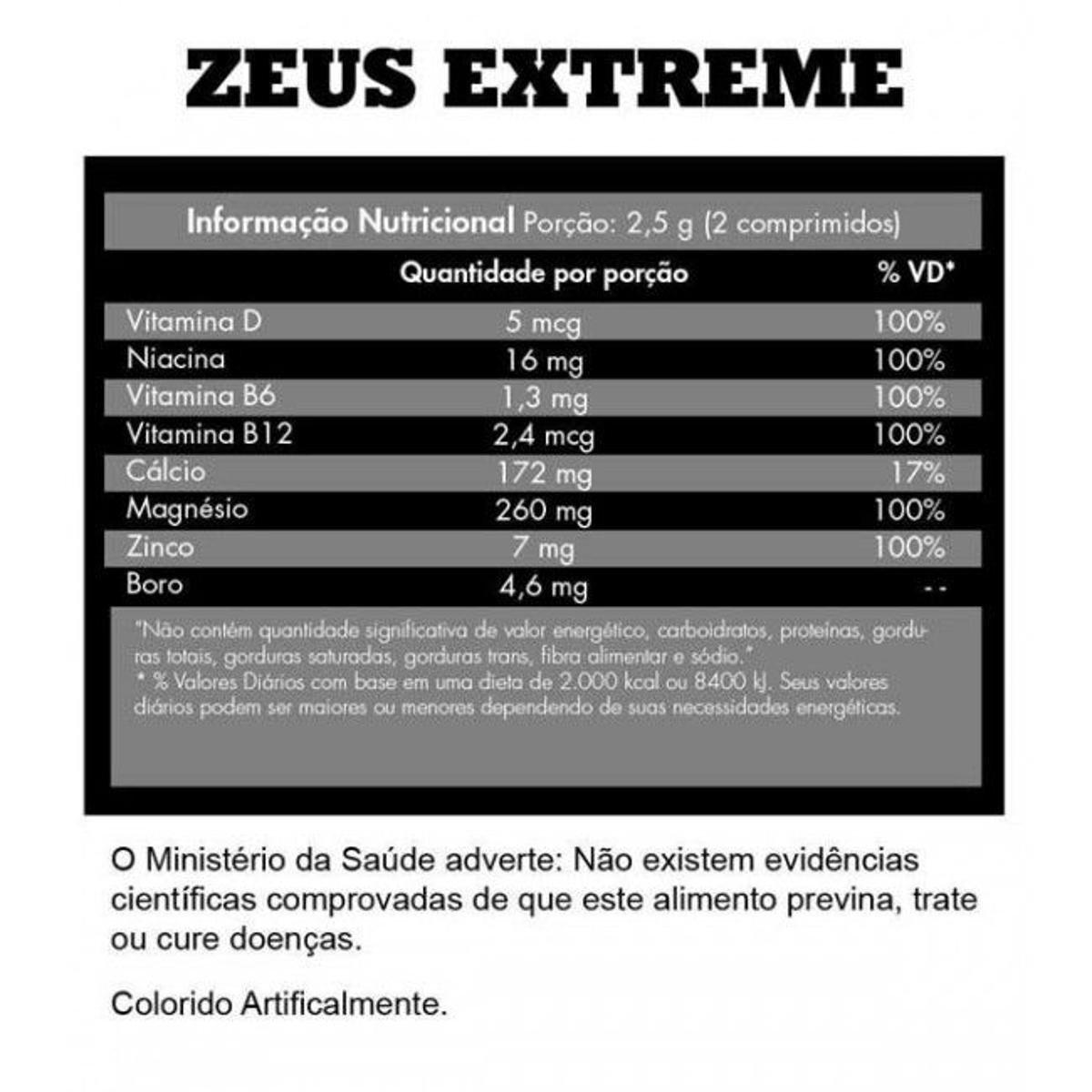 ZMA Zeus Extreme Iridium Labs 60 Tabs - 1