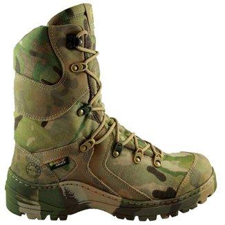234320671 Airstep Bota Tática Militar Cano Alto Camuflagem Multicam 8990-13 - 46