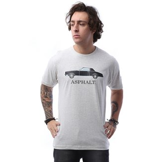 ea210a51e2 Camisetas Asphalt Masculinas - Melhores Preços