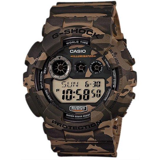 f3107e83a83 Relógio Casio G-Shock Gd-120Cm -5Dr - Camuflado - Compre Agora ...
