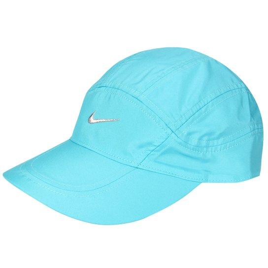 Boné Nike Aba Curva Dri-Fit Spiros - Azul Claro+Azul 370cde5aec7