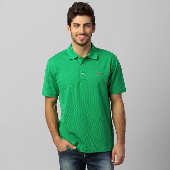 Camisa Polo Lacoste Super Light Masculina - Verde - Compre Agora ... 2a43dae805