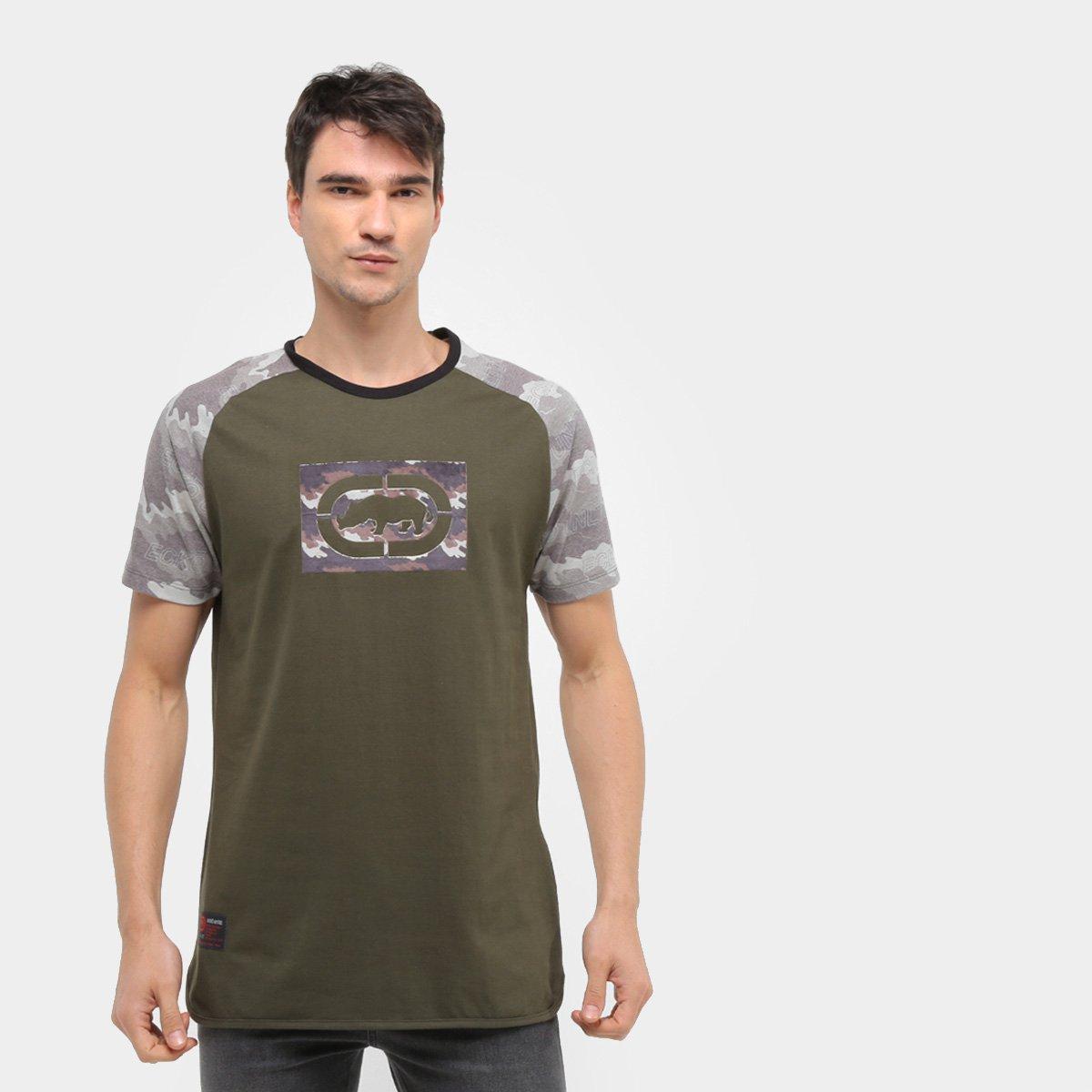 Camiseta Ecko Unltd Camuflada Rhino Masculina