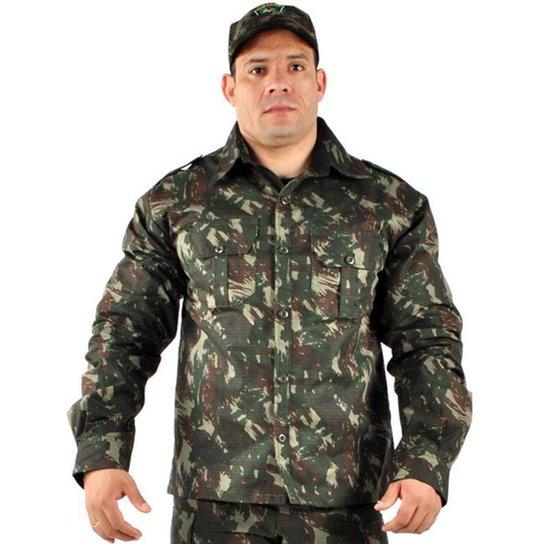 e8bc79b8eed56 Camisa Manga Longa Masculina Elite Comandos Adventure - Compre Agora ...