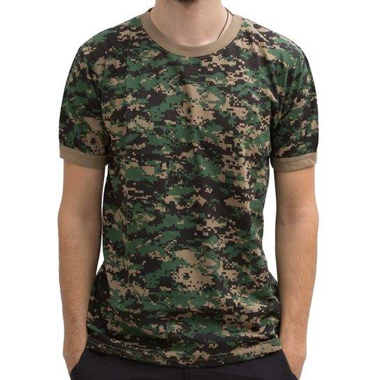 ef9f244082f5b Camiseta Bravo Digital Marpat - Camuflado - Compre Agora