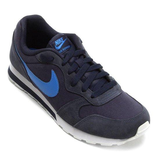 Tênis Infantil Nike Md Runner 2 - Azul Claro e Azul - Compre Agora ... ed3afa8b8802e