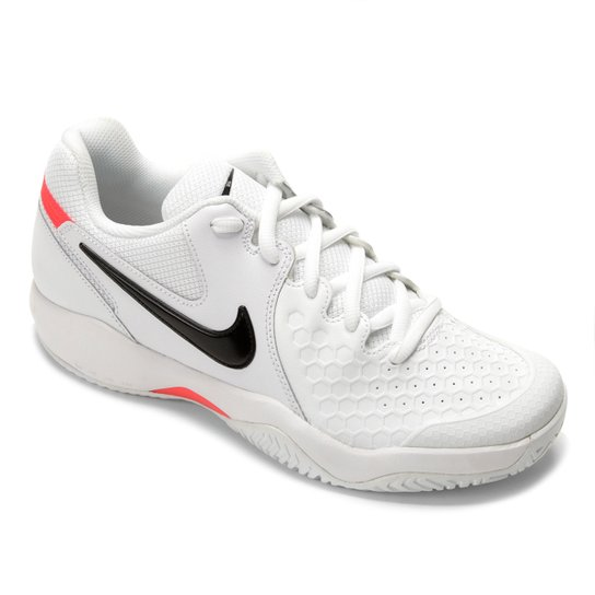 fdc47d3329058 Tênis Nike Air Zoom Couro Resistance Masculino - Branco - Compre ...
