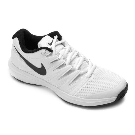 1503a195ce9 Tênis Nike Air Zoom Prestige HC Masculino - Branco e Chumbo - Compre ...