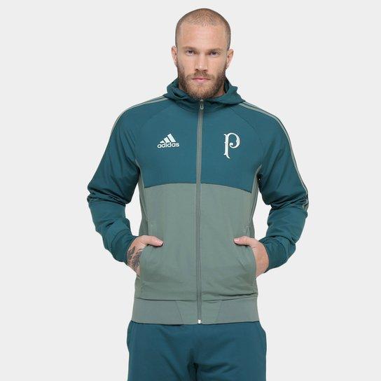 Jaqueta Palmeiras Adidas Viagem 17 18 Masculina - Compre Agora ... d3de255d7d178