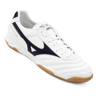 8491ab4eac5ed Chuteira Futsal Mizuno Morelia Classic IN P Masculina