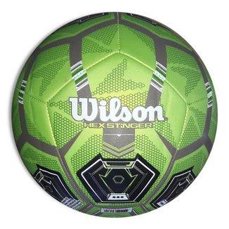 61f659b45 Bola de Futebol Campo Wilson Hex Stinger 5