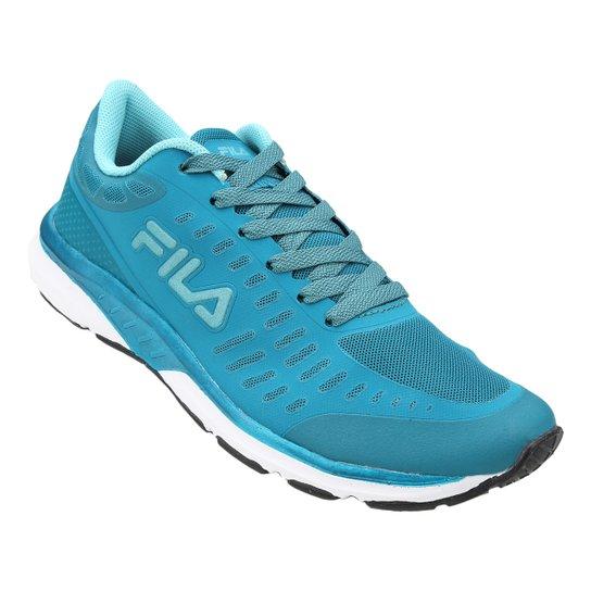 6f48abffa00 Tênis Fila Fxt Grid Feminino - Azul Turquesa - Compre Agora