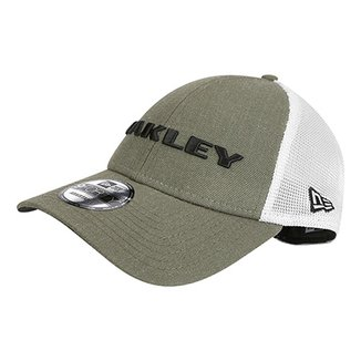 Boné Oakley Aba Curva Mod Heather New Era Masculino 94aeae3d55c