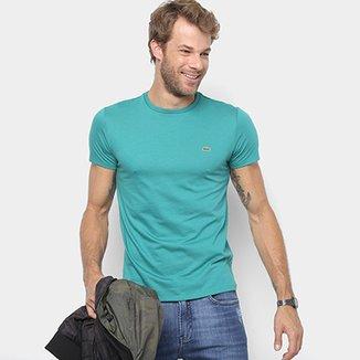 c6016e88199ce Camiseta Lacoste Básica Jersey Masculina