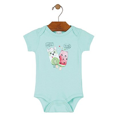 Body Infantil Up Baby Manga Curta Hey You Are So Sweet