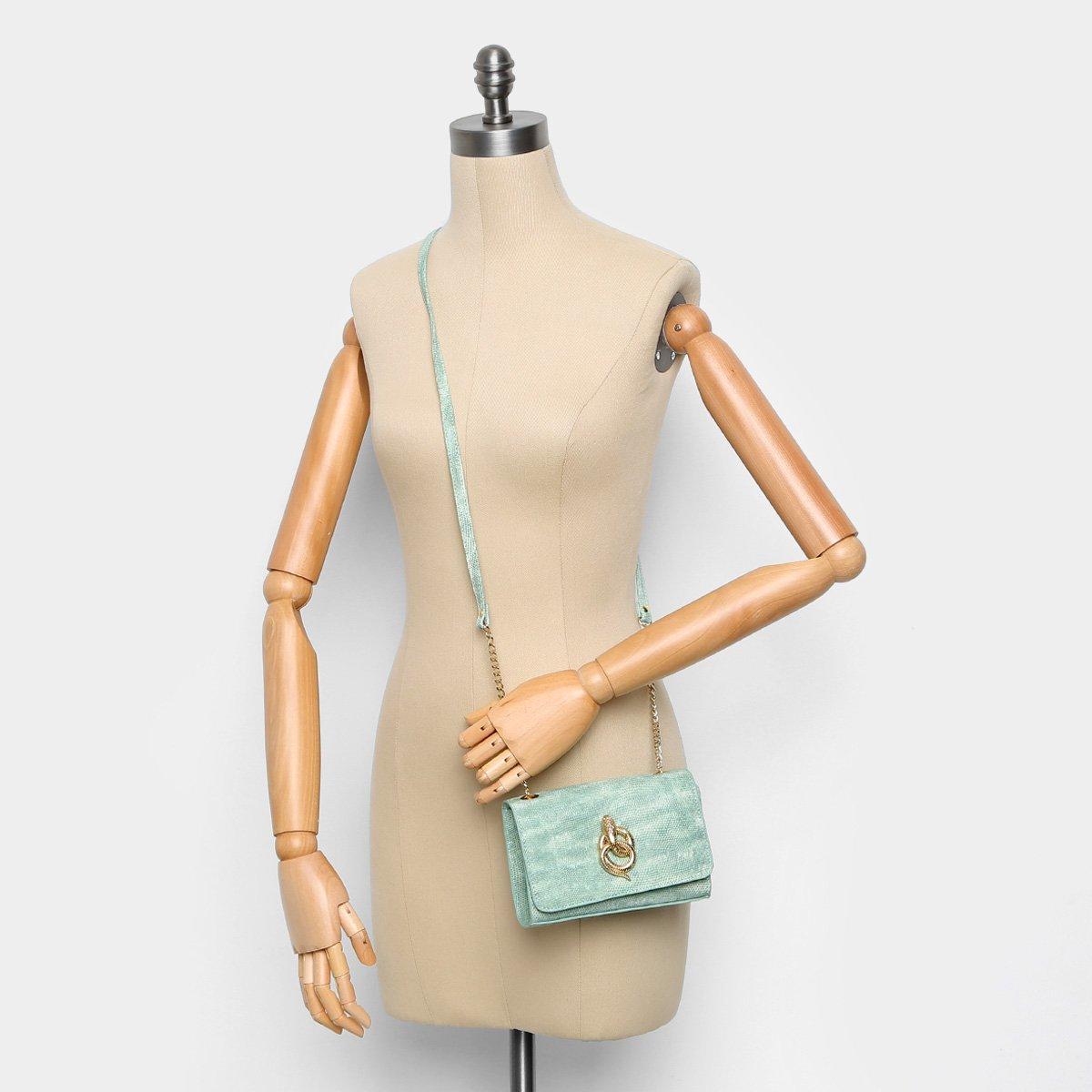 33794ae9d Bolsa Colcci Mini Bag Cobra Alça Corrente Feminina - Shopping TudoAzul