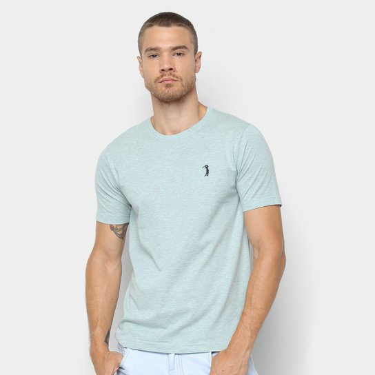 Camiseta Aleatory Básica Masculina - Verde claro - Compre Agora ... c56f1009afebc