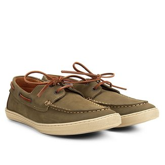 e0fd64bd0c Sider Couro Richards Boat Relax Masculino