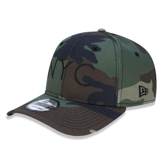 Boné New Era 940 NYC New York City - Camuflado - Compre Agora  faf6e73cbf6