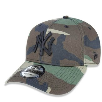Boné New York Yankees 940 Woodland Camo - New Era e728ced2ec2
