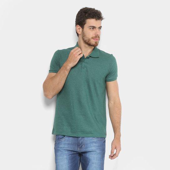 Camisa Polo Kohmar Piquet Básica Masculina - Verde - Compre Agora ... 1fca098097c9f