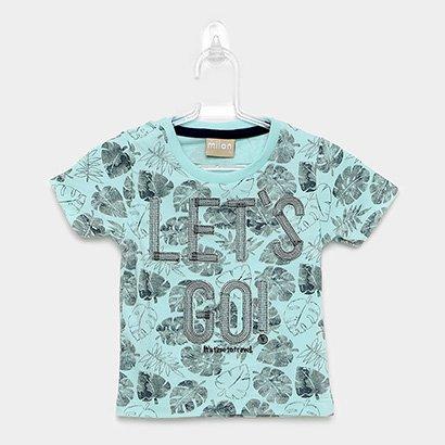 Camiseta Infantil Milon Let's Go Masculina