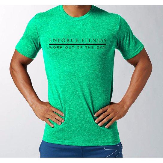 26643ae24b4 Camiseta Wod para Treino Academia Crossfit Funcional - Enforce Fitness    Cinza