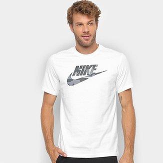 Compre Camiseta Nike Branca Online  2f402f8e08c