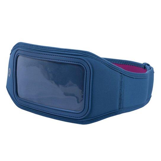 9851d37de Pochete Para Celular Iphone 7 Plus Skyhill - Azul+Rosa