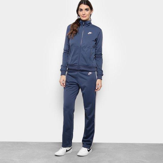 12f83cd71f Agasalho Nike Pk Oh Feminino - Azul e Rosa - Compre Agora