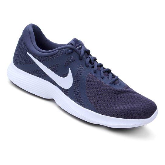 969df2d65c9 Tênis Nike Revolution 4 Masculino - Azul e Chumbo - Compre Agora ...