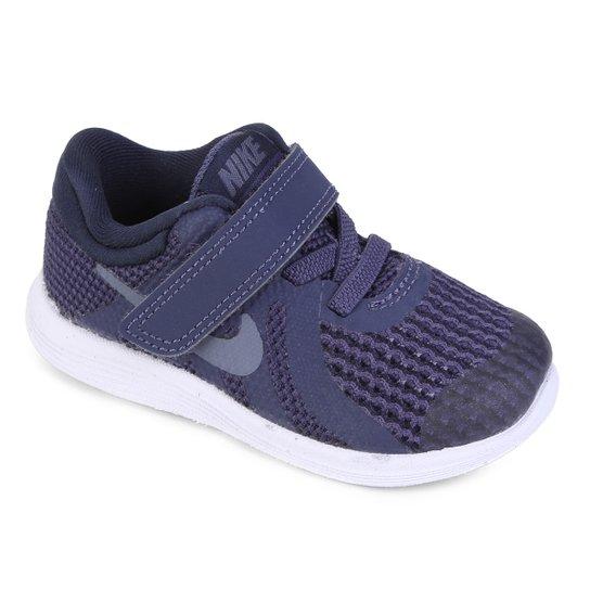 096c108768d Tênis Infantil Nike Revolution 4 Btv - Marinho - Compre Agora