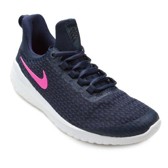 c2cb853c437 Tênis Nike Renew Rival Feminino - Azul e Rosa - Compre Agora