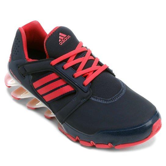 9a6b4e5218b Tênis Adidas Springblade E-Force Feminino - Azul e Pink - Compre ...
