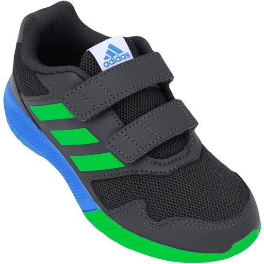 faa4a1cf1 Tênis Infantil Adidas Altarun Cf K - Marinho e Verde - Compre Agora ...