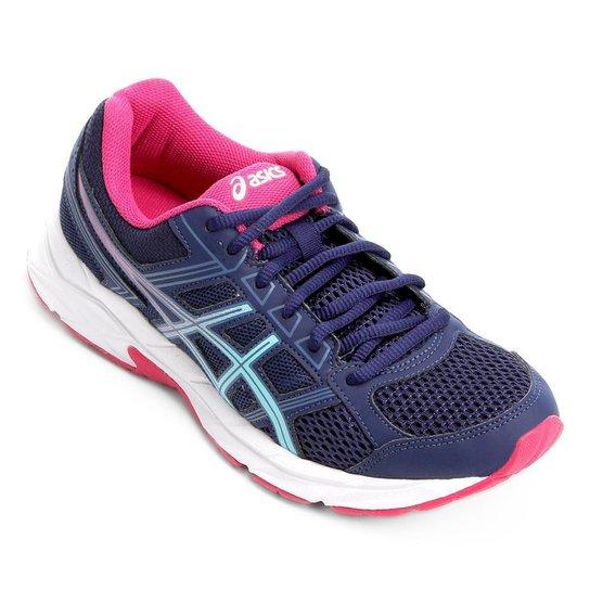 Tênis Asics Gel Contend 4 A Feminino - Azul e Rosa - Compre Agora ... 0f72ac81ab3db