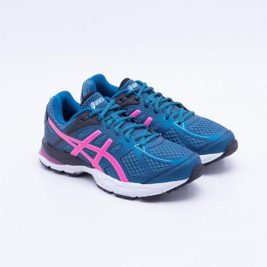 Tênis Asics Gel Spree Feminino - Azul e Rosa - Compre Agora  b814eadef13cc