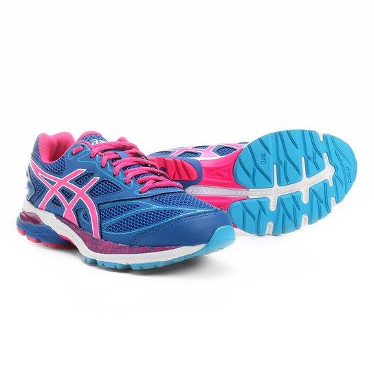 Tênis Asics Gel Pulse 8 A Feminino - Azul e Rosa - Compre Agora ... 19f5eb1a721e4