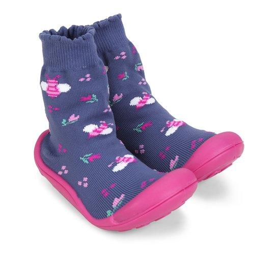 504cf9b355 Meia Sola Comfort Infantil Klin Feminina - Compre Agora