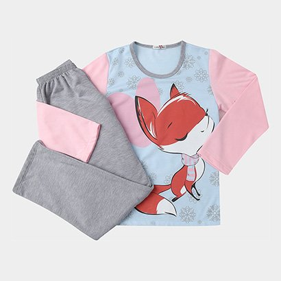 Pijama Infantil SonnoVicci Longo Feminino