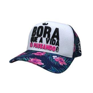 Compre Bone Feminino Rosa Online  574ed7d6d37